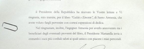Comunicazione Santo Padre – Presidente della Repubblica – Presidente della Regione Sicilia